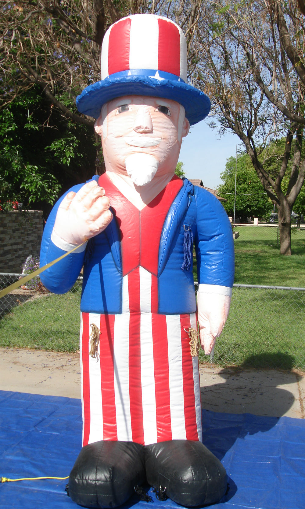 Uncle Sam advertising inflatable